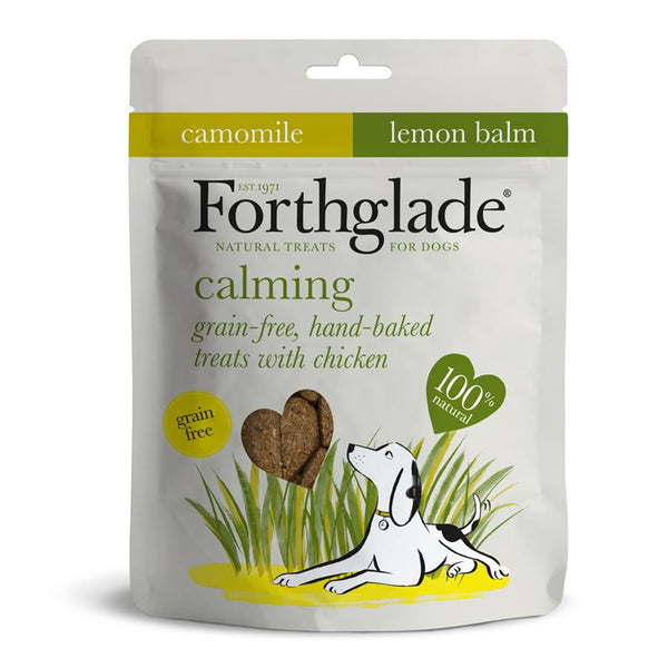 Forthglade Baked Gf Calming Treats with Chicken, Camomile & lemon balm 150g