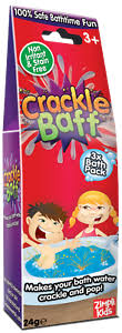 Zimpli Kids Crackle Bath - 3 Bath Pack