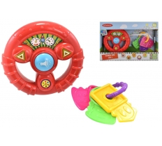 "BABY COMBO PLAY SET ""TRY ME"" (STEERING WHEEL) 6M+"