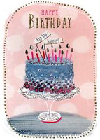Greeting Card - Cake in Bubble