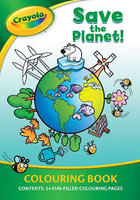 Crayola Save the Planet! Colouring Book - 24 pages