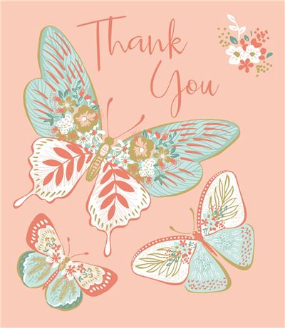 Greeting Card - Thank You Female