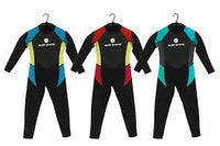 Full Length Wetsuit Adult Sizes