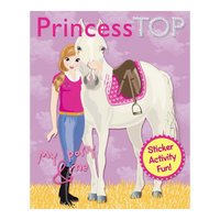Princess Top Sticker Activity Fun!