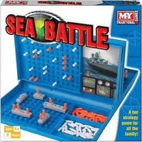 Sea Battle (Battleships) Game Age 7+