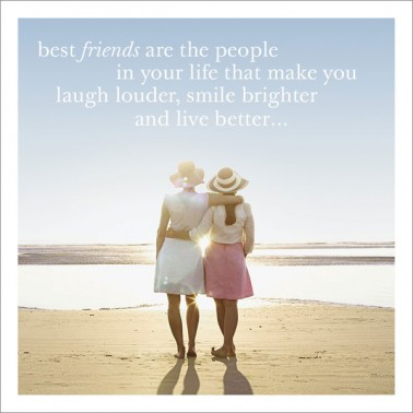 Greeting Card -Best Friends are......- Blank