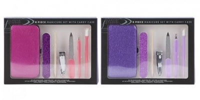 7PC MANICURE SET WITH CARRY CASE