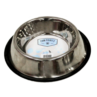 15CM STAINLESS STEEL NON-SLIP CAT BOWL
