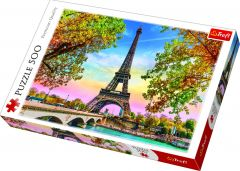 500pcs Romantic Paris Jigsaw Puzzle
