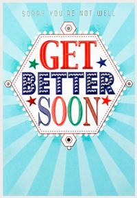 Greeting Card - Get Better Soon