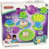 Casdon Tea Set Food Pretend play Age 3+