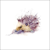 Greeting Card -Hedgehog- Blank