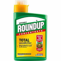 Roundup Total Weedkiller  (Optima) x 1 Litre Concentrate
