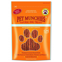 Pet Munchies Wild Salmon And Sweet Potato Dental Stick 90g