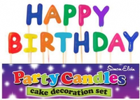 Happy Birthday Pick Letter Candles