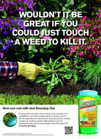 Weedkiller Gel Weed Root Killer Spot Treatment Roundup 150ml Herbicide Garden