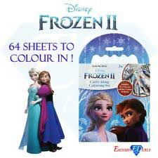 FROZEN II Carry along colouring set 3+