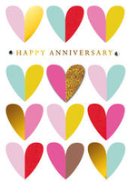 Greeting Card - Happy Anniversary - BLANK