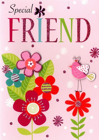 Birthday Greeting Card - Special Friend