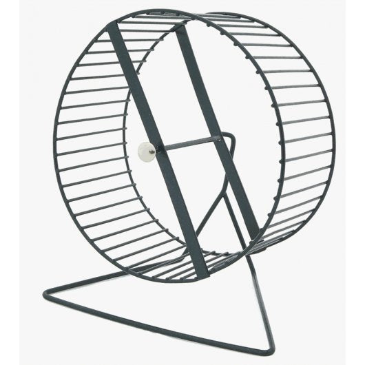 Hampster plat Wheel & Stand Metal