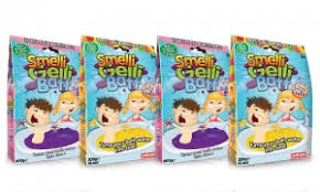 Zimpli Kids Smelli Gelli Baff - 2 Colours- Tutti Fruitti or Bubble Gum