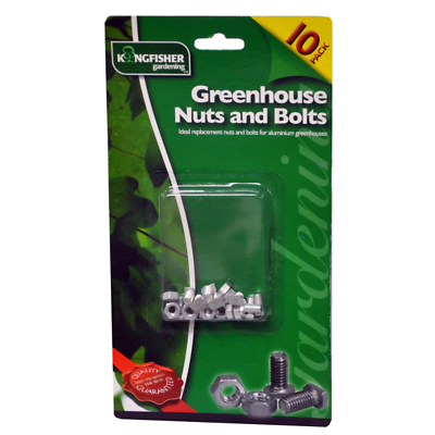 Greenhouse Nuts & Bolts - 10 Pack