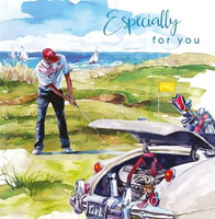 Birthday Greeting Card -Time Out - Golf