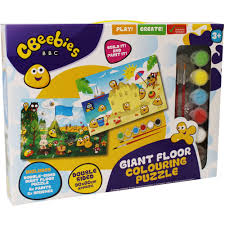Cbeebies Giant Floor Colouring Puzzle 3+