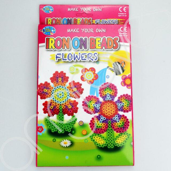 Make Your Own Iron On Beads - Flowers Age 6+