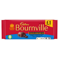 £1 Bar Bournville Old Jamaica Dark Chocolate 100g