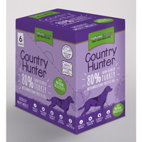 Country Hunter Superfood Dog Pouches Turkey 6 x150g