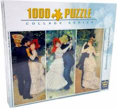 1000PC 48 X 67CM JIGSAW PUZZLE IN COLOUR BOX, DANCERS