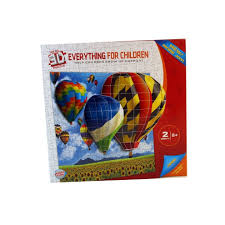 Real 3D Puzzle Everything for Children Age 8+
