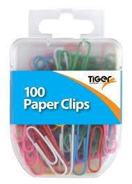 PAPER CLIPS - ASSORTED
