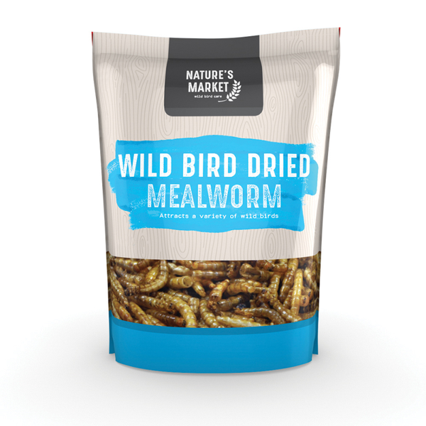 1kg Bag Mealworms Wild Bird Feed