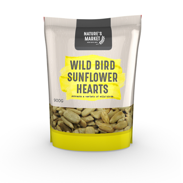 0.9kg Bag Sunflower Hearts Feed