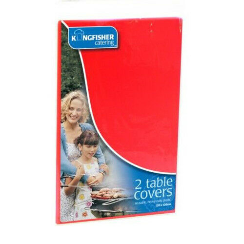 2 table cloths - RED -