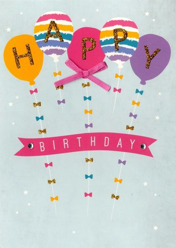 Birthday Greeting Card - Happy Birthday