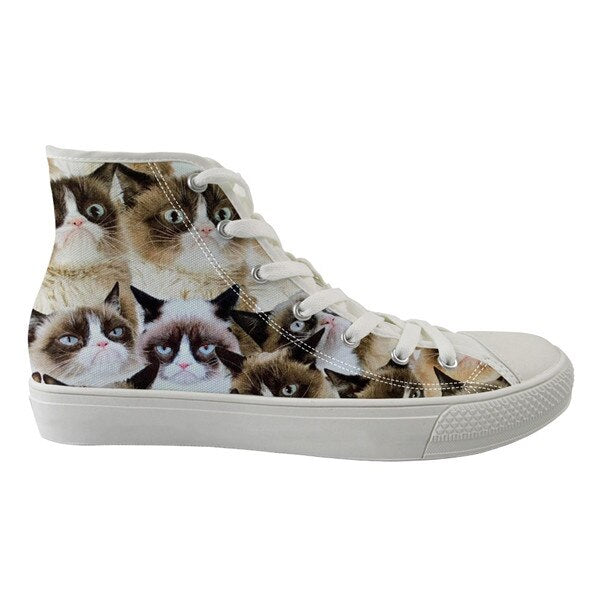 Cat and Dog Sneakers