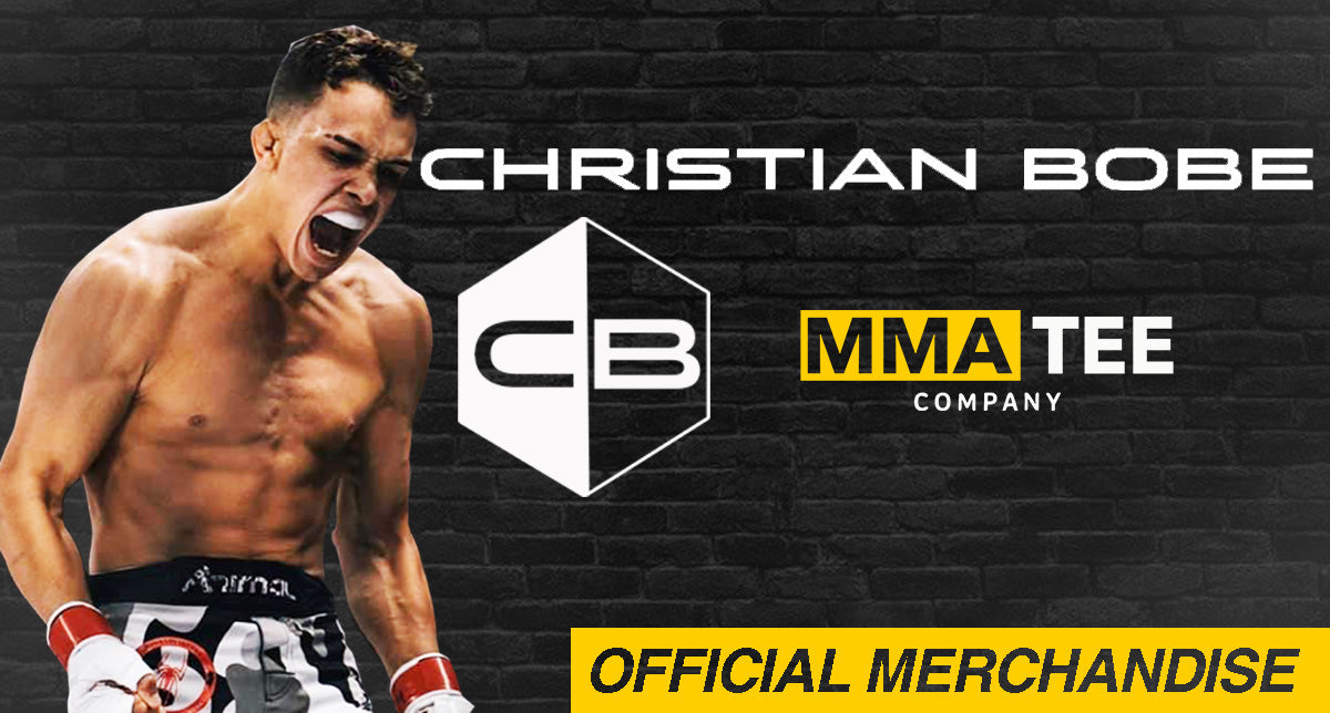 Christian Bobe Signs with MMA Tee Company