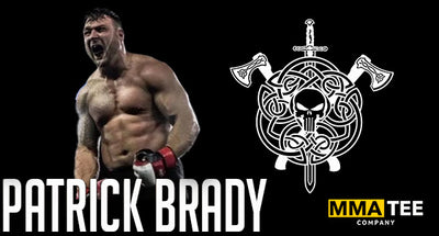 Patrick Brady Signs with MMA Tee Company
