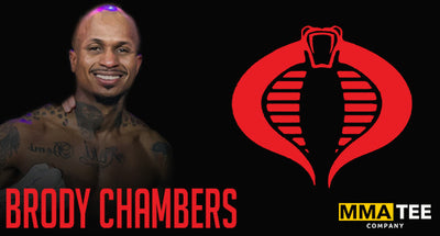 Undefeated Pro Boxer Brandon Chambers Signs with MMA Tee Company - Set to Fight April 24th