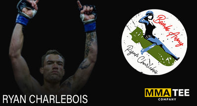 MMA Tee Company Signs Ryan Charlebois Ahead of LFA 106 - Fight Tees Now Available