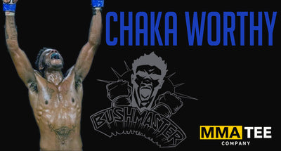 Chaka Worthy Signs with MMA Tee Company - Set to fight at CFFC 90 on December 17th
