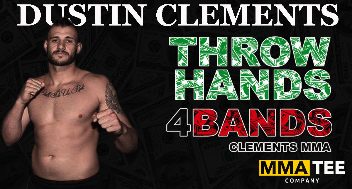 Dustin Clements Signs with MMA Tee Co: Set to Fight in GLFC Main Event on Aug 15th
