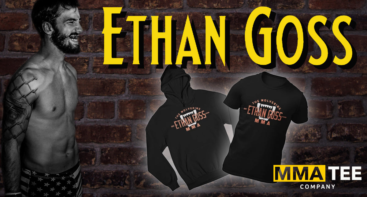 Bellator Veteran Ethan Goss signs with MMA Tee Company