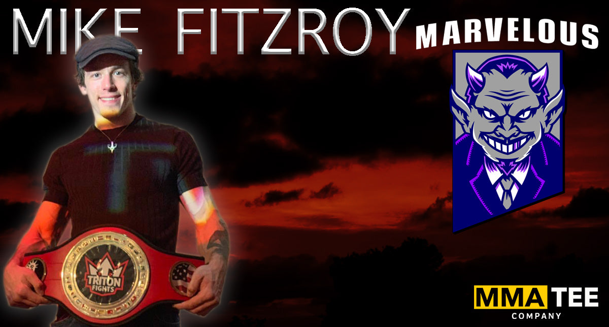Mike Fitzroy Signs with MMA Tee Company