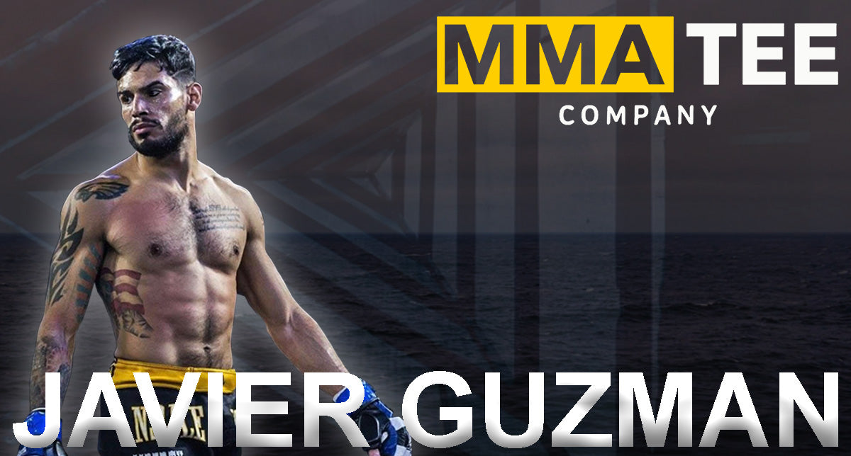 Art of War Featherweight Champion Javier Guzman Signs with MMA Tee Company