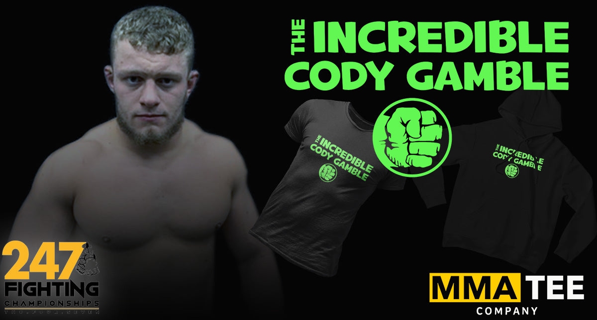 Cody Gamble Signs with MMA Tee Company - Set to Fight on Nov 28th