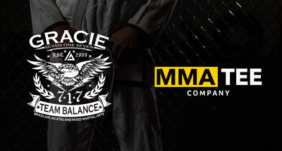 MMA Tee Company Partners with Gracie 717